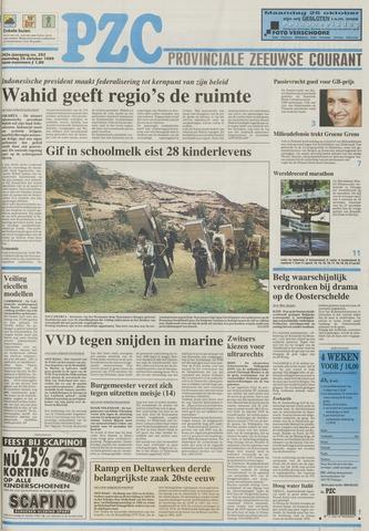 Provinciale Zeeuwse Courant 1999-10-25