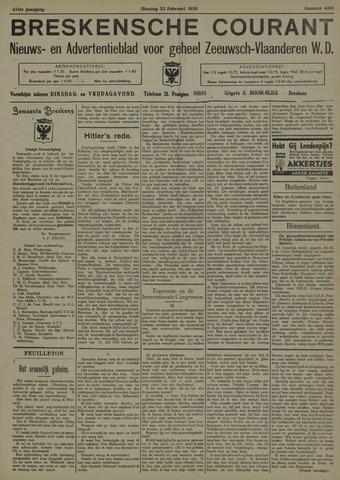 Breskensche Courant 1938-02-22
