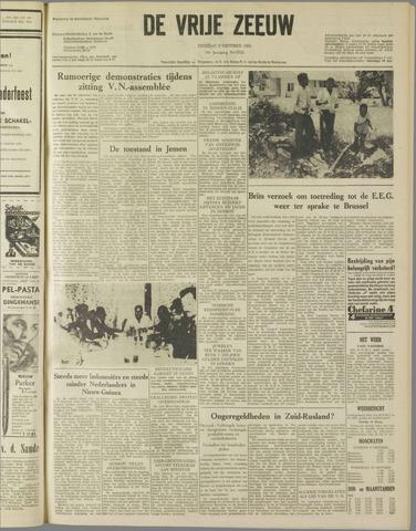 de Vrije Zeeuw 1962-10-09