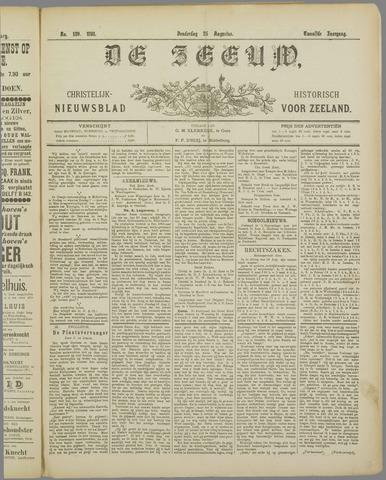 De Zeeuw. Christelijk-historisch nieuwsblad voor Zeeland 1898-08-25