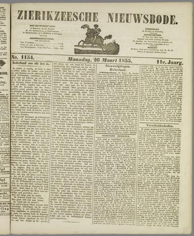 Zierikzeesche Nieuwsbode 1855-03-26
