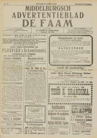de Faam en de Faam/de Vlissinger 1915-01-20