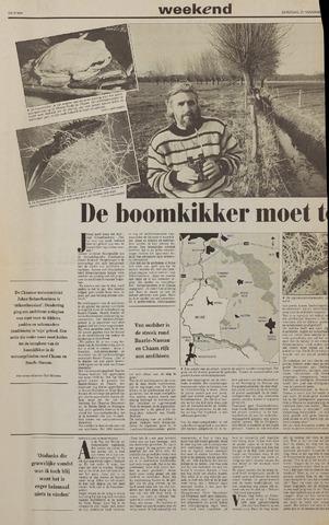 Watersnood documentatie 1953 - kranten 1992-11-21