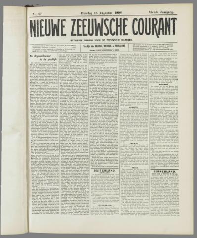 Nieuwe Zeeuwsche Courant 1908-08-18