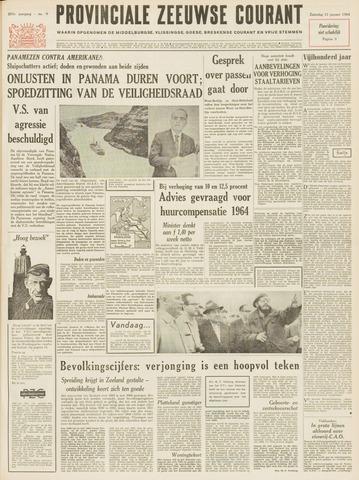 Provinciale Zeeuwse Courant 1964-01-11