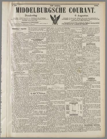 Middelburgsche Courant 1903-08-06