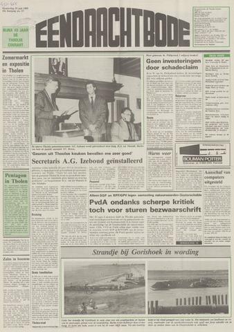 Eendrachtbode (1945-heden)/Mededeelingenblad voor het eiland Tholen (1944/45) 1989-06-29