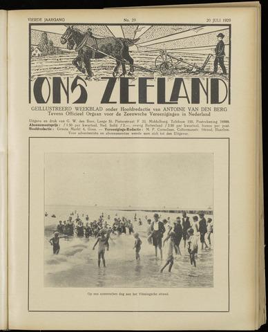 Ons Zeeland / Zeeuwsche editie 1929-07-20