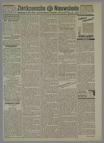 Zierikzeesche Nieuwsbode 1933-05-31