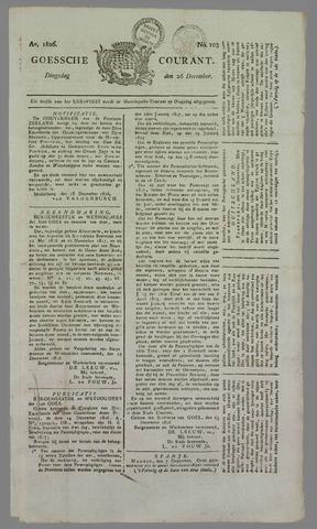 Goessche Courant 1826-12-26