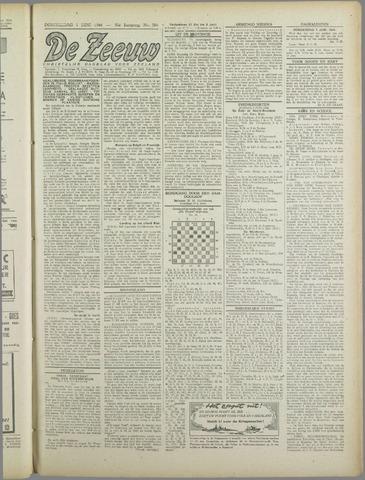 De Zeeuw. Christelijk-historisch nieuwsblad voor Zeeland 1944-06-01