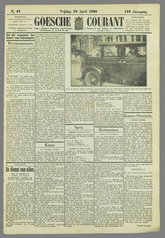 Goessche Courant 1929-04-19