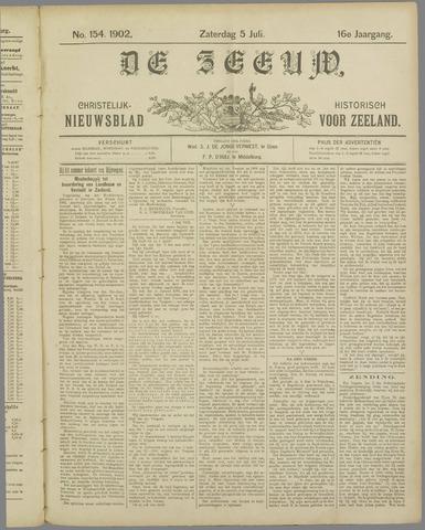 De Zeeuw. Christelijk-historisch nieuwsblad voor Zeeland 1902-07-05