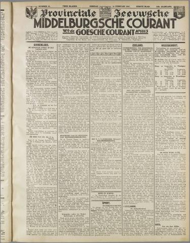 Middelburgsche Courant 1937-02-23