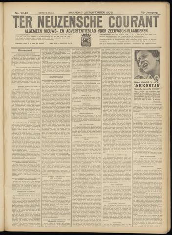 Ter Neuzensche Courant. Algemeen Nieuws- en Advertentieblad voor Zeeuwsch-Vlaanderen / Neuzensche Courant ... (idem) / (Algemeen) nieuws en advertentieblad voor Zeeuwsch-Vlaanderen 1938-11-28