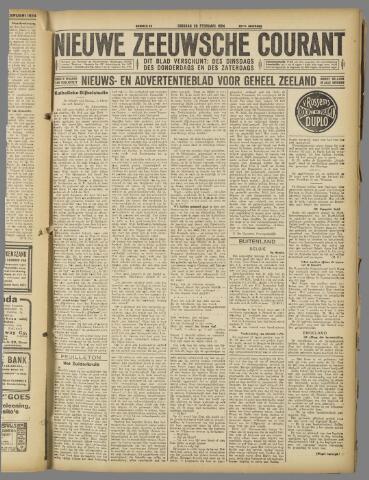 Nieuwe Zeeuwsche Courant 1924-02-26