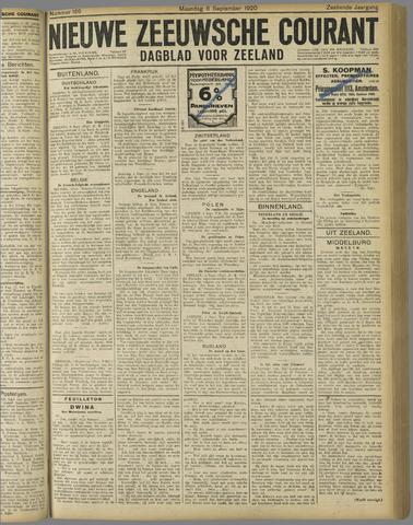 Nieuwe Zeeuwsche Courant 1920-09-06