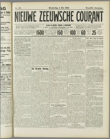 Nieuwe Zeeuwsche Courant 1916-05-04