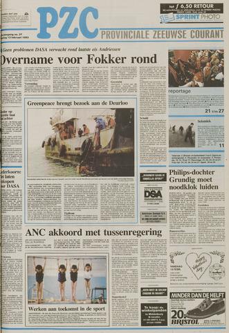 Provinciale Zeeuwse Courant 1993-02-13
