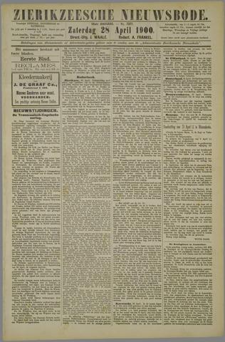 Zierikzeesche Nieuwsbode 1900-04-28