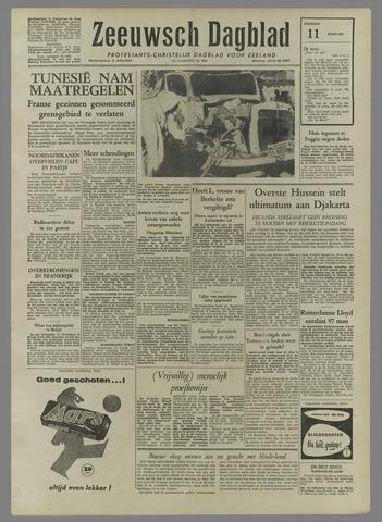 Zeeuwsch Dagblad 1958-02-11