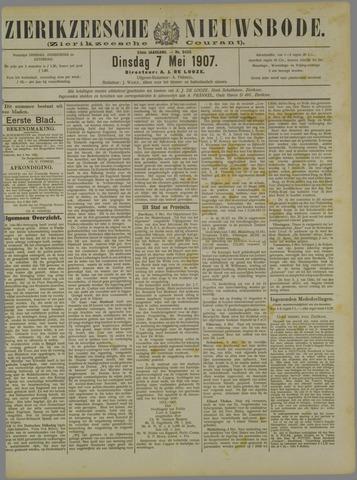 Zierikzeesche Nieuwsbode 1907-05-07