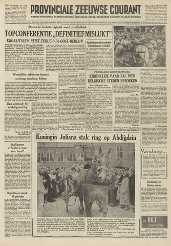 Provinciale Zeeuwse Courant 1960-05-18