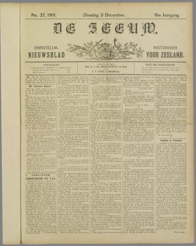 De Zeeuw. Christelijk-historisch nieuwsblad voor Zeeland 1901-12-03