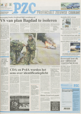 Provinciale Zeeuwse Courant 2003-04-06