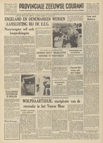 Provinciale Zeeuwse Courant 1961-08-01