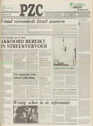 Provinciale Zeeuwse Courant 1981-06-20