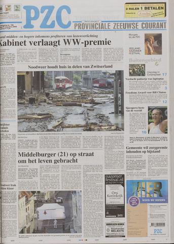 Provinciale Zeeuwse Courant 2005-08-23