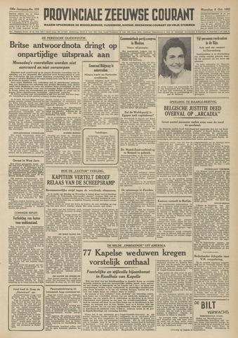 Provinciale Zeeuwse Courant 1952-10-06