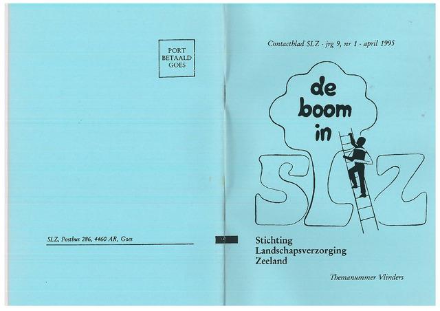 Landschapsbeheer Zeeland - de Boom in 1995-04-01