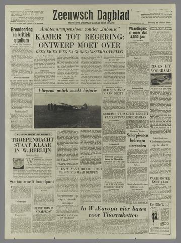 Zeeuwsch Dagblad 1959-10-31