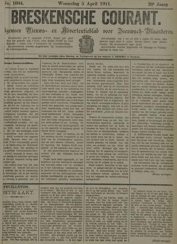 Breskensche Courant 1911-04-05
