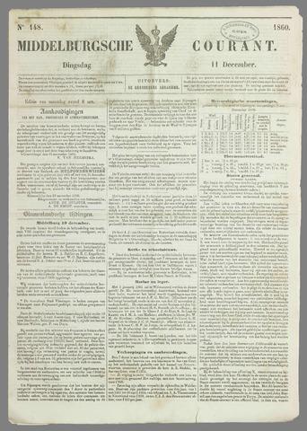 Middelburgsche Courant 1860-12-11