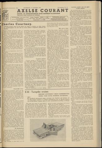 Axelsche Courant 1956-01-14