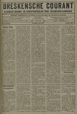 Breskensche Courant 1921-06-01