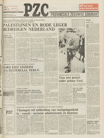 Provinciale Zeeuwse Courant 1975-09-13