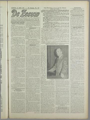 De Zeeuw. Christelijk-historisch nieuwsblad voor Zeeland 1943-06-29
