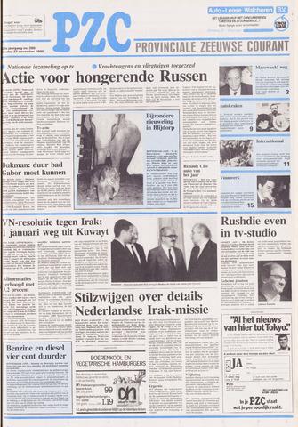 Provinciale Zeeuwse Courant 1990-11-27