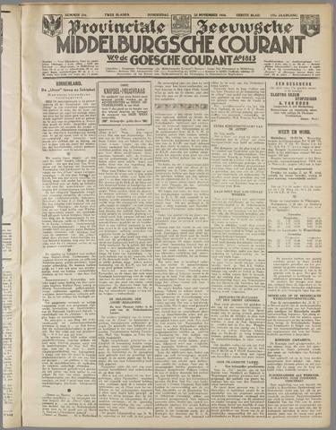 Middelburgsche Courant 1934-11-22