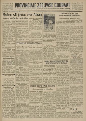 Provinciale Zeeuwse Courant 1949-05-17