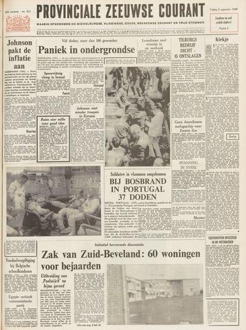 Provinciale Zeeuwse Courant 1966-09-09