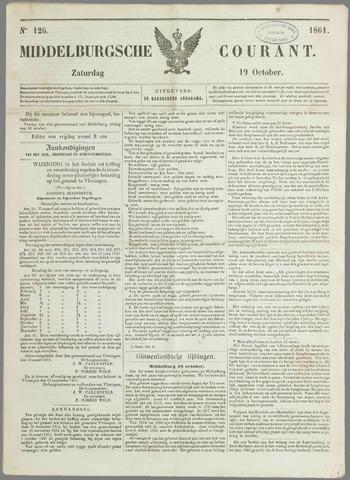 Middelburgsche Courant 1861-10-19