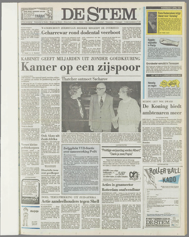 de Stem 1987-04-01