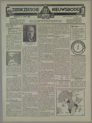 Zierikzeesche Nieuwsbode 1940-06-11