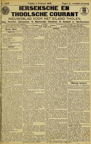 Ierseksche en Thoolsche Courant 1932-02-05
