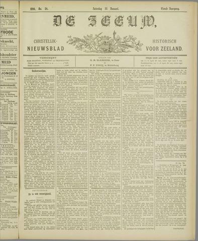 De Zeeuw. Christelijk-historisch nieuwsblad voor Zeeland 1896-01-25